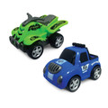 Junior Racers 2 Pack Push n Go ATV Racer and Baja Truck