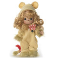 "Precious Moments Cowardly Lion of Courage 7"" Wizard of OZ Collectible Figure"