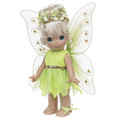 "Precious Moments Tinkerbelle Fairy Tales Mini Moments 5.5"" Collectible Doll"