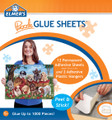 Elmer's Puzzle 12 Glue Sheets and 2 Adhesive Plastic Hangers