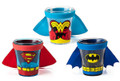 DC Comics Superman Batman Wonder Woman Caped 3 Pack Mini Shot Glasses
