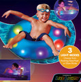 "Illuminated Light Up LED Kids 24"" Pool Tube"