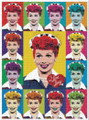 I LOVE LUCY Pop Art Version 1000 Piece Jigsaw Puzzle