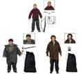 "Set of 3 Home Alone Clothed 25th Anniversary 8"" Figures Kevin Harry Marv NECA"