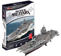 Super Military USS Enterprise 121 Piece 3D Puzzle Aircraft Carrier