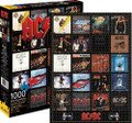 AC/DC Discography Album Collage 1000 Piece Jigsaw Puzzle