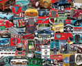 FORD CLASSICS 1000 Piece Collectible Jigsaw Puzzle
