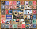 USPS PRESIDENTIAL STAMPS 1000 Piece Collectible Jigsaw Puzzle