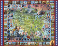 United States of America 45 Presidents 1000 Piece Jigsaw Puzzle