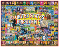 United States of America Presidents Collage 1000 Piece Jigsaw Puzzle