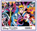 Disney Villains Art 1500 Piece Classic Jigsaw Puzzle
