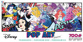 Disney POP ART Princess Panoramic 700 piece Jigsaw Puzzle