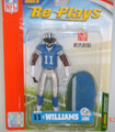 Rare NFL Series 4 RE-PLAYS Roy Williams Detroit Lions Action Figure