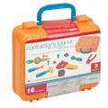 Children's Contractor's Tool Kit Play Set