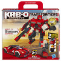 KRE-O Transformers SIDESWIPE 220 Piece Building Blocks 2 IN 1 Sports Car or Robot
