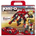 KRE-O Transformers SIDESWIPE 220 Piece Building Blocks 2 IN 1 Sports Car or Robot