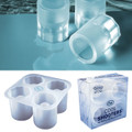 COOL SHOOTERS Ice Shot Glasses Mold Tray Set