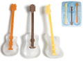 COOL JAZZ Ice Stirrers Guitar Mold Tray Set