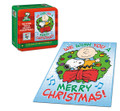 PEANUTS We Wish You A Merry Christmas Charlie Brown 550 pc Collector's Puzzle