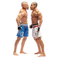 UFC Ultimate Battles CHUCK LIDDELL vs WANDERLEI SILVA Action Figure Set