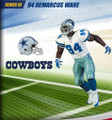 Rare NFL Series 3 RePlays Demarcus Ware Dallas Cowboys Action Figure