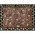 Coins Loose Change 550 Piece Jigsaw Puzzle