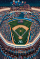 New York Yankee Stadium 500 Piece Jigsaw Puzzle by Eric Dowdle