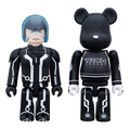 TRON Legacy Sam Kubrick and Lightcycle Bearbrick 2-Pack Limited Edition Collectible