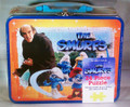 THE SMURFS 24 Piece Puzzle with Gargamel in Collectible Tin Lunch Box