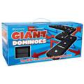 Giant Dominoes Garden Game Indoor Outdoor Double Six Set of 28 Foam Dominoes