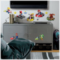 Mario Kart Wii 34 Peel and Stick Wall Decals