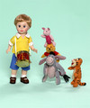 "Christopher Robin And Friends 8"" Madame Alexander Collectible Figurine"