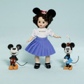 "Mouseketeer 8"" Wendy with Mickey and Minnie Disney Showcase Collection"