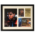 """Muhammad Ali """"Sportsman of the Century"""" International Collectible Stamps Framed Photo"""