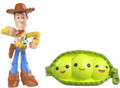 Disney Pixar Toy Story 3 Action Links Buddy 2 Pack Peas In a Pod and Walking Woody