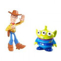 Disney Pixar Toy Story 3 Action Links Buddy 2 Pack Alien and Waving Woody