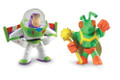 Disney Pixar Toy Story 3 Action Links Buddy 2 Pack Twitch and Hero Buzz Lightyear