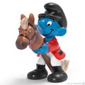 NEW Rider Sports Smurf Figurine - Schleich
