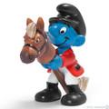 NEW Rider Sports Smurf Figurine - Schleich