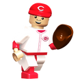 OYO MLB Baseball Cincinnati Reds Building Brick Collector Series Mini Figure Player 00