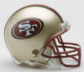 SAN FRANCISCO 49ERS Riddell Replica Mini NFL Helmet