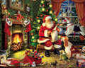 CHECKING IT TWICE Santa Claus 1000 Piece Jigsaw Puzzle