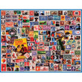 Stamp Collector's Dream 1000 Piece Jigsaw Puzzle