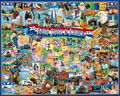 THE UNITED STATES OF AMERICA 1000 Piece Jigsaw Puzzle