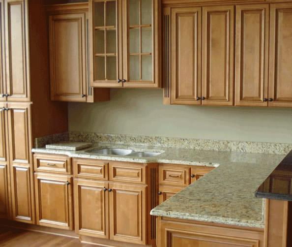 Good Caramel Maple Kitchen · Cabinet Construction