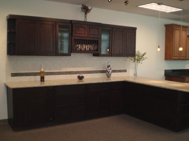Kitchen cabinets chocolate craftsmen network for Chocolate brown cabinets