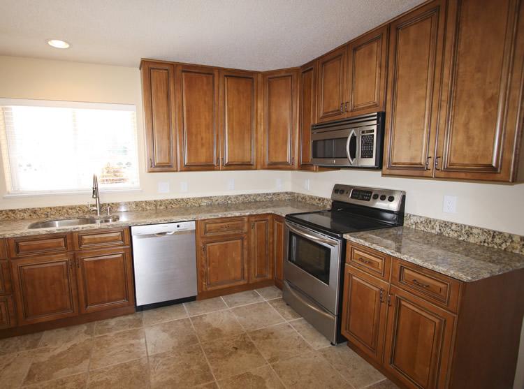 Kitchen Cabinets - Presidential Caramel - Craftsmen Network