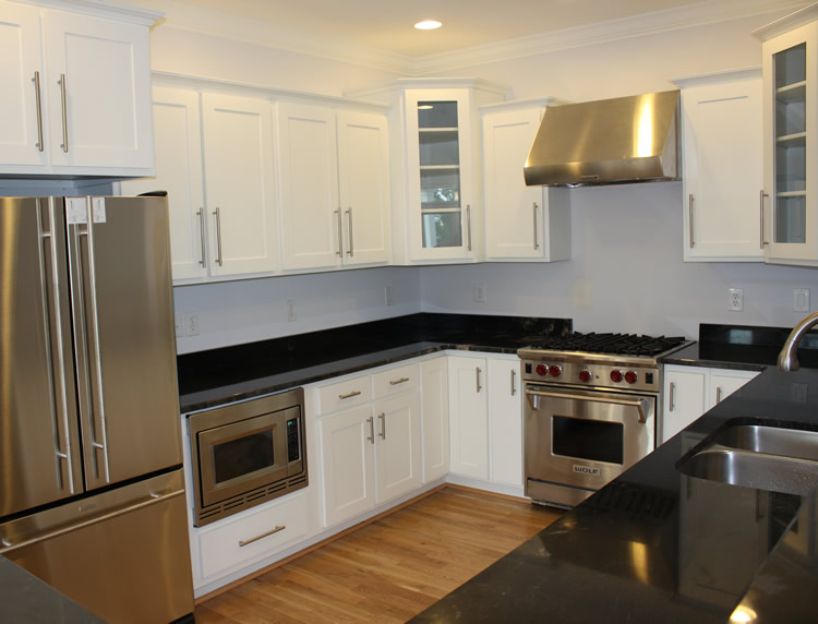 White Shaker Kitchen Cabinets kitchen cabinets - white shaker - craftsmen network