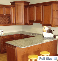 Lenox Maple Kitchen