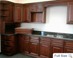 Mahogany Maple Kitchen